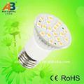 con diferentes formas y el tipo de base de smd 12v e27 lámpara led bombillas