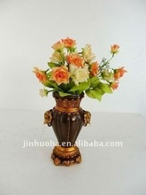 2012 The New Resin Golden Elephant Style Vase