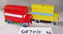 ceramic bus money box