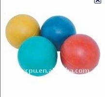 Sponge rubber ball