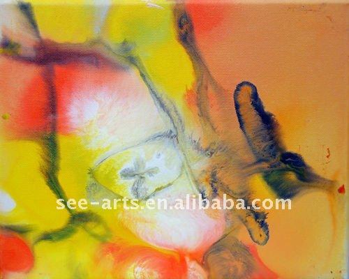 لوحات تجريدية للفن الحديث بسيطة