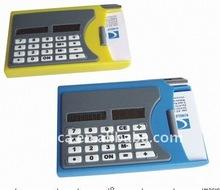 8 digits calculator office business mini slim card solar power pocket calculator