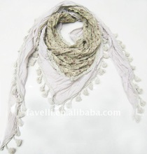 2012 New Triangle Popular Scarf With Stock