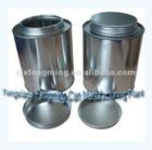 1000ml blank tin box, empty tin cans, round tin box