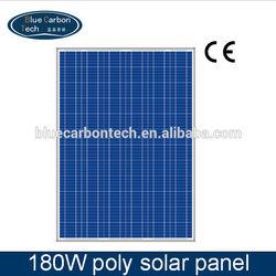 hot price per watt photovoltaic poly solar panel 180W