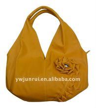 Fashion Lady's Designer Handbag With Flower Shape