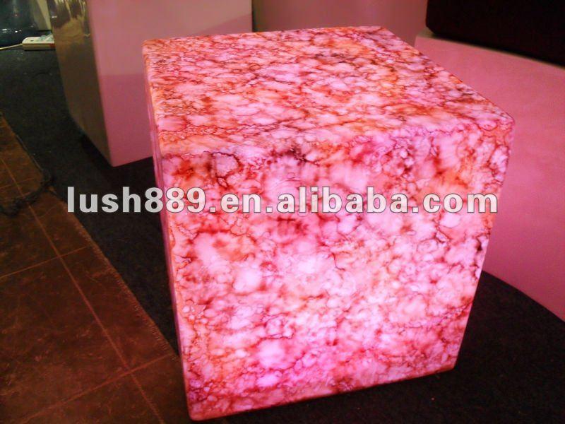portable salon chair / sex chair / led cube chair