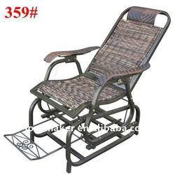 Outdoor swings and garden furniture of wicker rattan rocking chair(359#)
