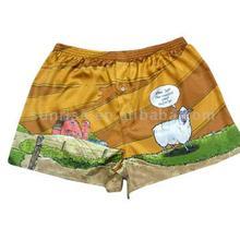 100% polyester boxer shorts