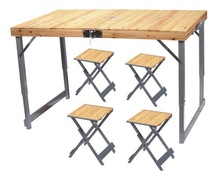 leisure,ourdoor,wooden folding picnic table