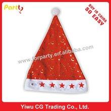 CHN-0001 Christmas hat,printing christmas hat santa hat christmas ornament