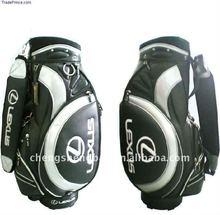fashion design leather golf cart bag