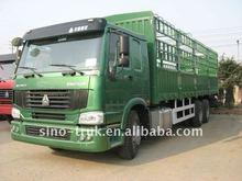 2012 HOWO cargo van truck