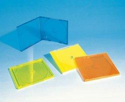 10.4MM COLOUR CD CASE SINGLE/DOUBLE/TRIPLE(YD-020)