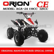 China Apollo ORION CE Popular 125cc Quad Kids ATV Automatic Gas ATV AGA-2A