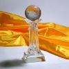 Shiny Clear Crystal Trophy