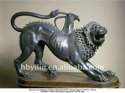 bronze The Chimaera of Arezzo statue
