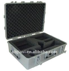 hard plastic case for scientific instrument