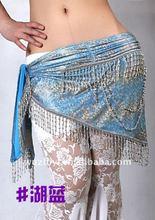 Elegent suquin perline danza del ventre hip sciarpe, danza del ventre cintura ingrosso ( qc0442 )