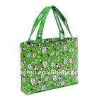 cartoon logo printing promotional shopping bag