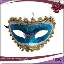 Make cheap plastic halloween party eye mask