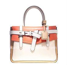 KD-S177 newest style high quality snake pu handbag