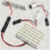 Light Panel 36 SMD LED+T10+BA9S+Festoon Bulb Adapter