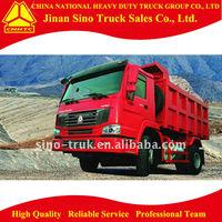 sino cnhtc howo light tipper truck 4*2