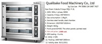 cake gas baking oven