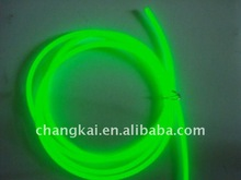 3.2mm High Brightness Grass Green EL wire with Single core