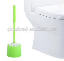 HQ1861 home hang up plastic handle toilet brush cleaning toilet bowl brush set