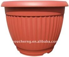 plastic flower pot planter