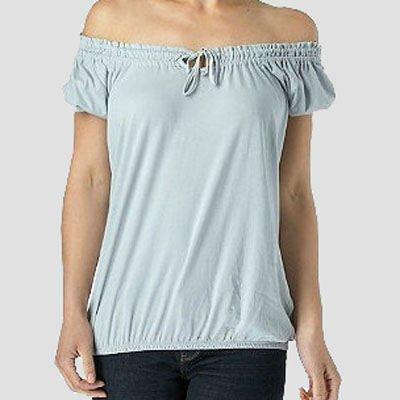 Lady saree blouse neck design