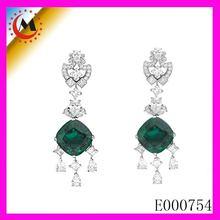 2015 NEW HK jewelry fair diamond earring Hot design for women
