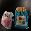 Degradable PE Laundry bag for drawstring style