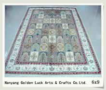 260L 6X9 persian silk rug