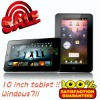 Hot! 10'' inch Android 2.3 Tablet PC WIFI Flash Camera/3D GAME TFT Resistive Touch Screen Pad