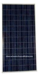 New design high efficiency polycrystalline 250W solar panel