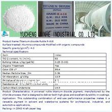 Kronos Titanium Dioxide rutile tio2 chloride process