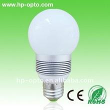 E27 E14 3W dimmable led bulb