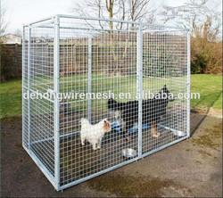 Galvanized metal dog cage/dog kennel/dog house for sale