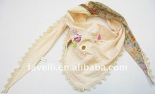 2012 New Spring Fashion Embroidery Scarf