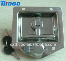 T handle truck door handle lock