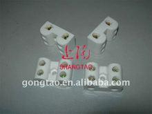 Ceramic terminal block connectors