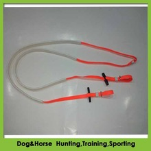 high quality rubber reins and bridle