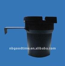 plastic ashtray bucket , ashtray butt bucket ,cheap bucket