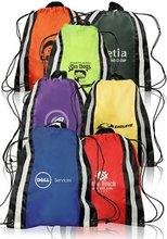 210D Reflective Sports Drawstring bag