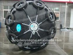 yokohama type floating ship rubber fenders are used for ship
