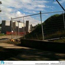 AEOMESH Metal Fence Air Port Fence