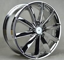 chrome car rims alloy wheel 17 inch wheel rim